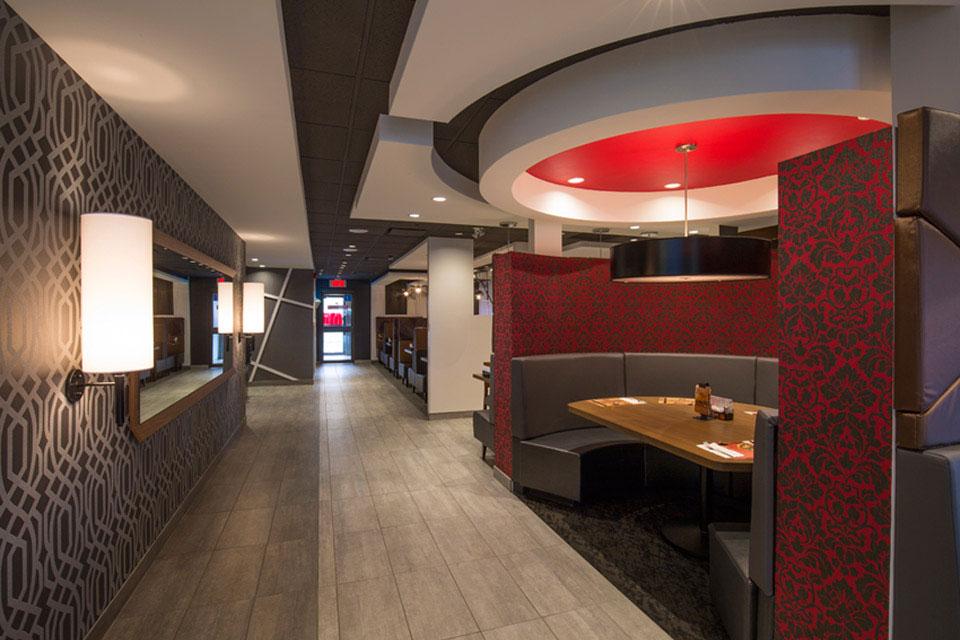 restaurant normandin bouvier steve girard designer. Black Bedroom Furniture Sets. Home Design Ideas