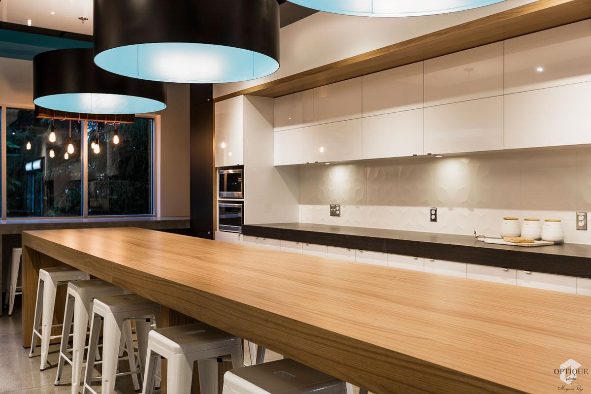 Design d'intérieur de salle de repas