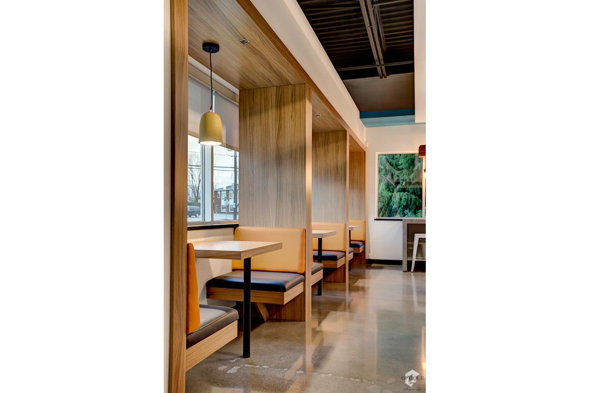 Design interieur cafétéria d'entreprise