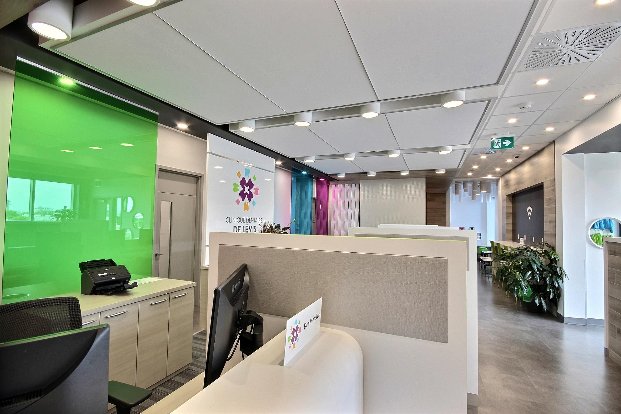 Design intérieur clinique Québec