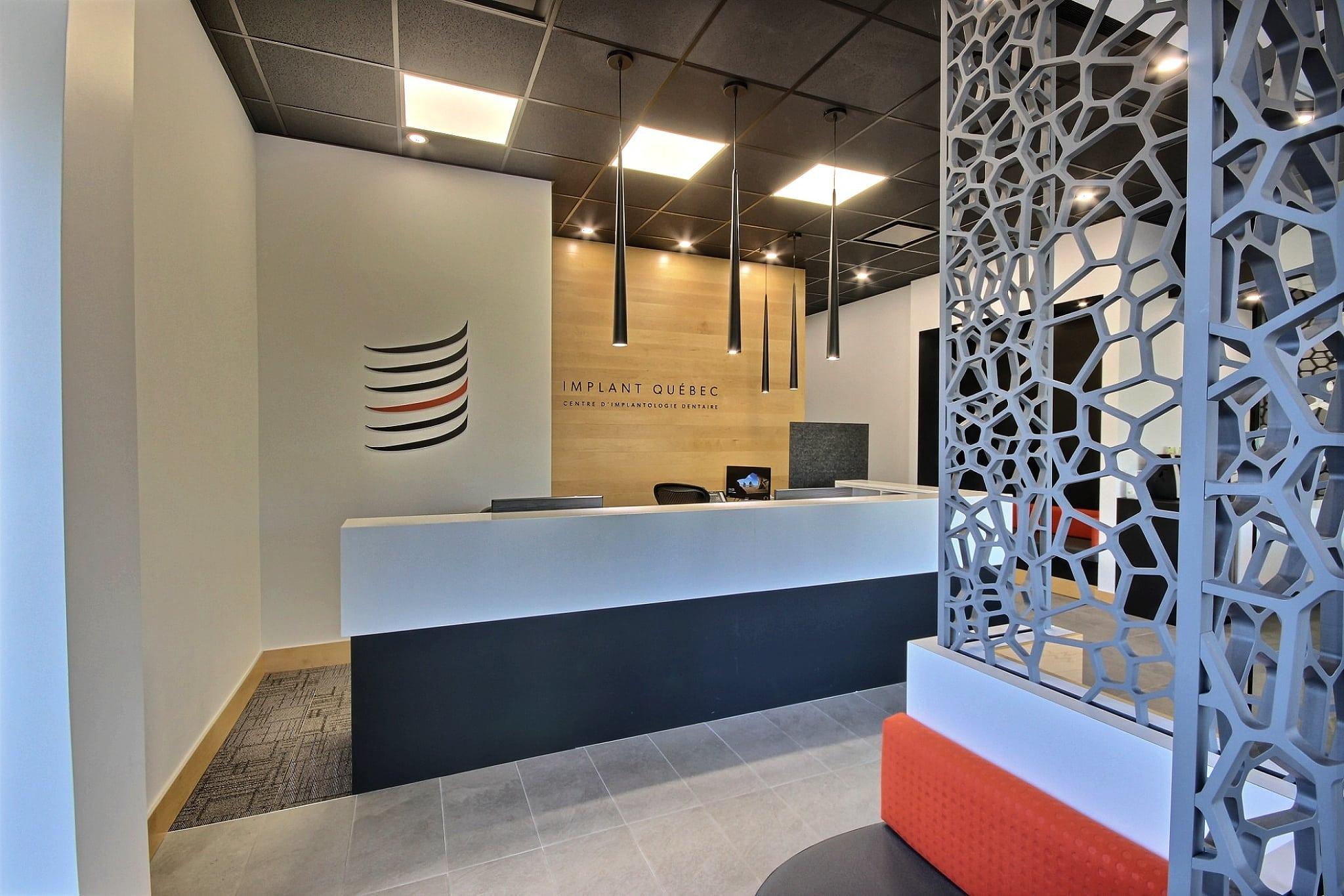 Design clinique Implant Québec