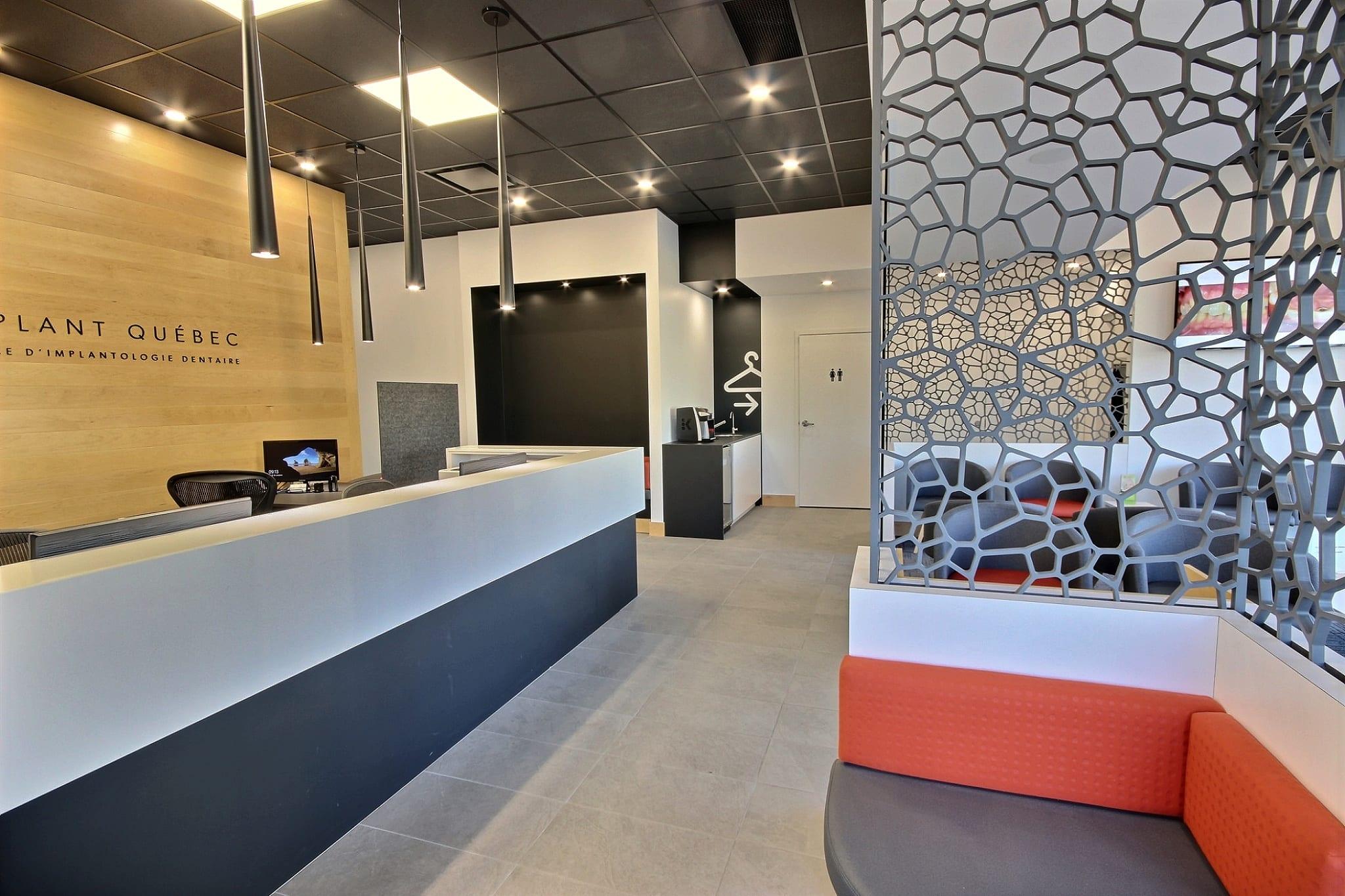 Entrée clinique Implant Québec