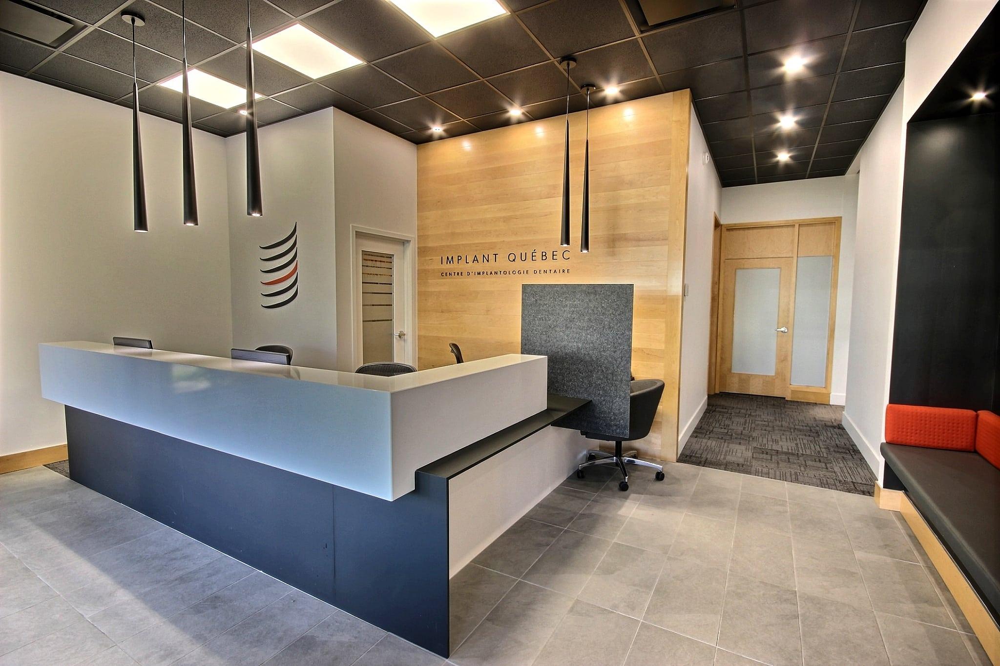 Couloir clinique Implant Québec