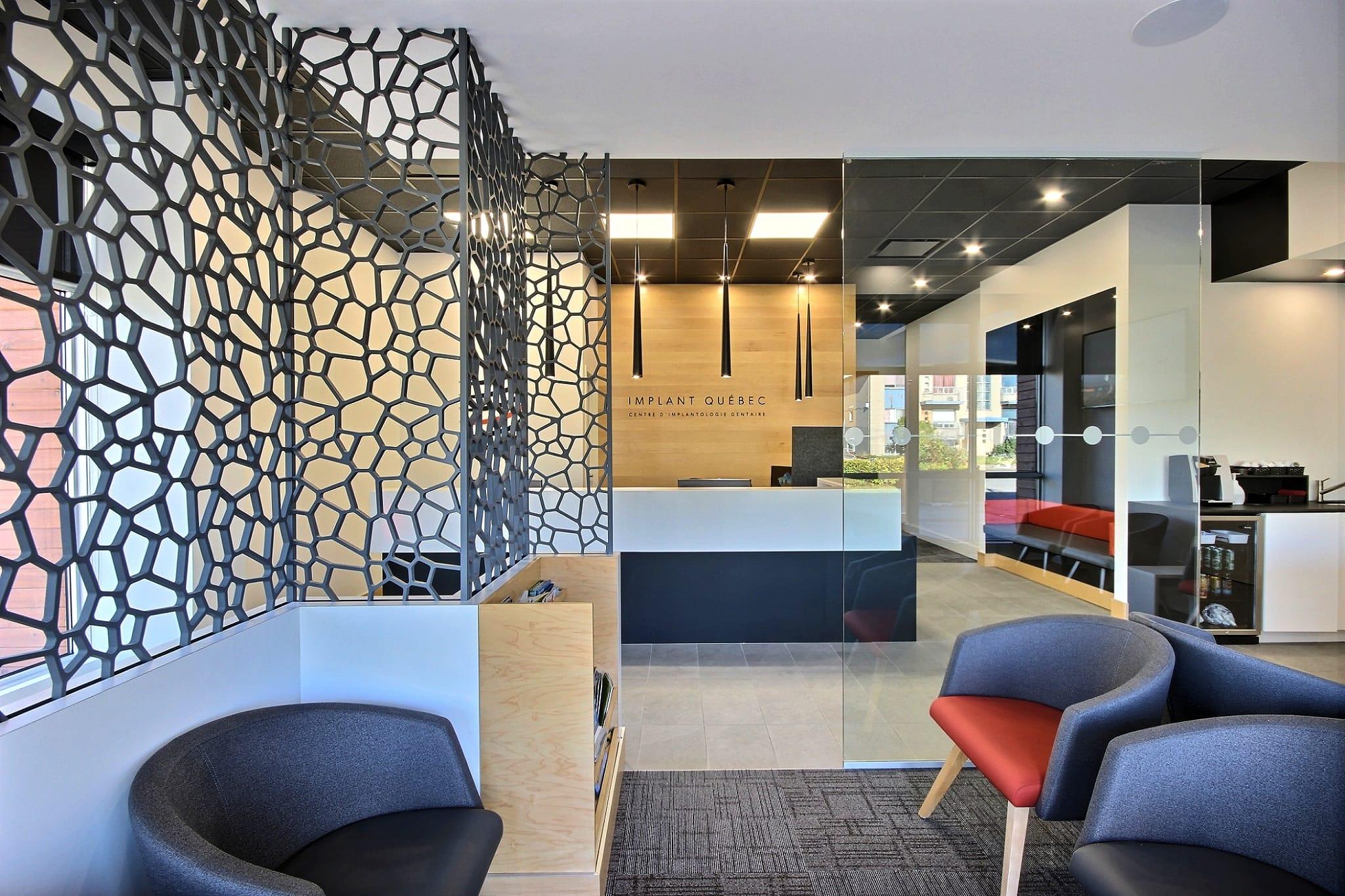 Salle d'attente design