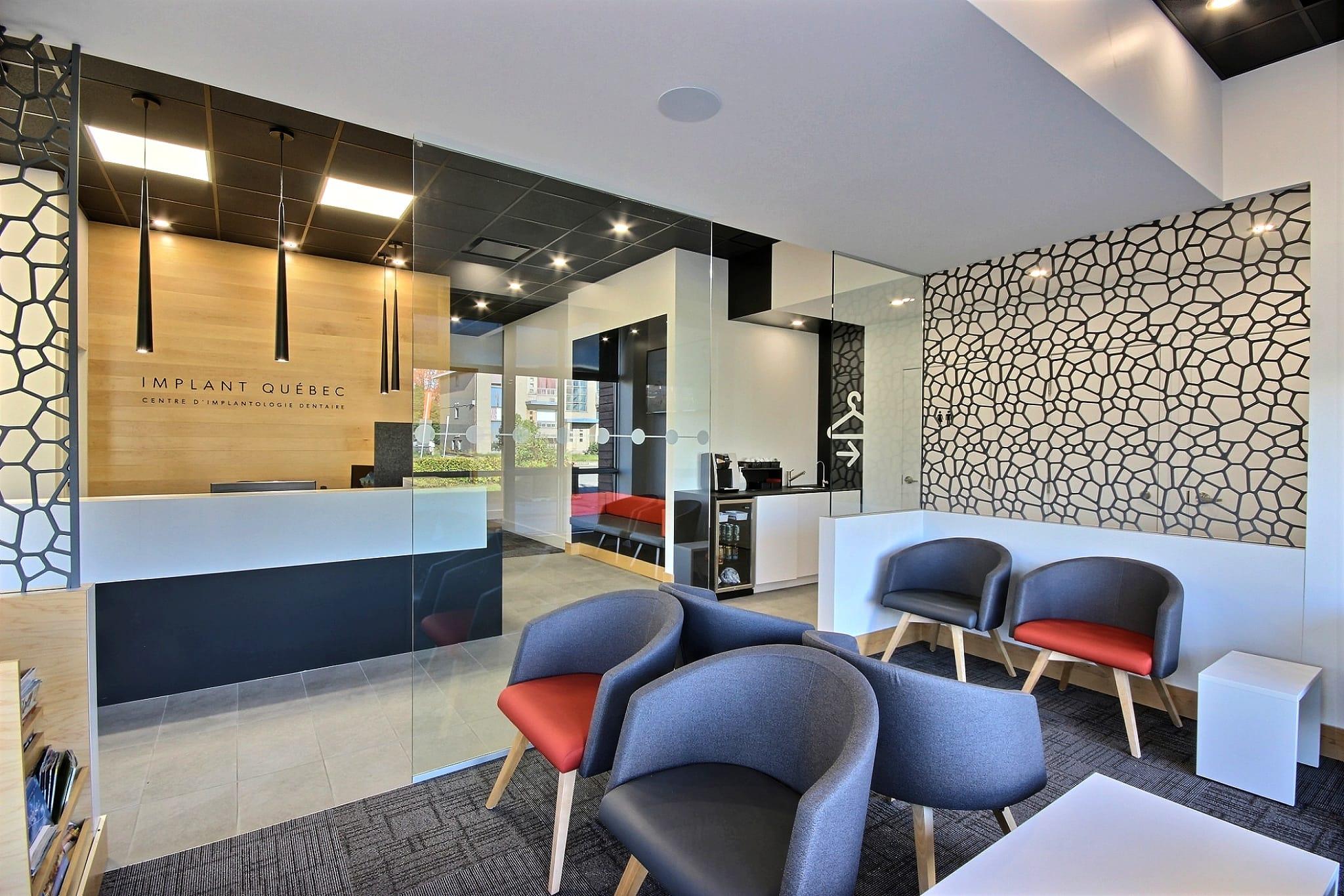 Design interieur salle d'attente