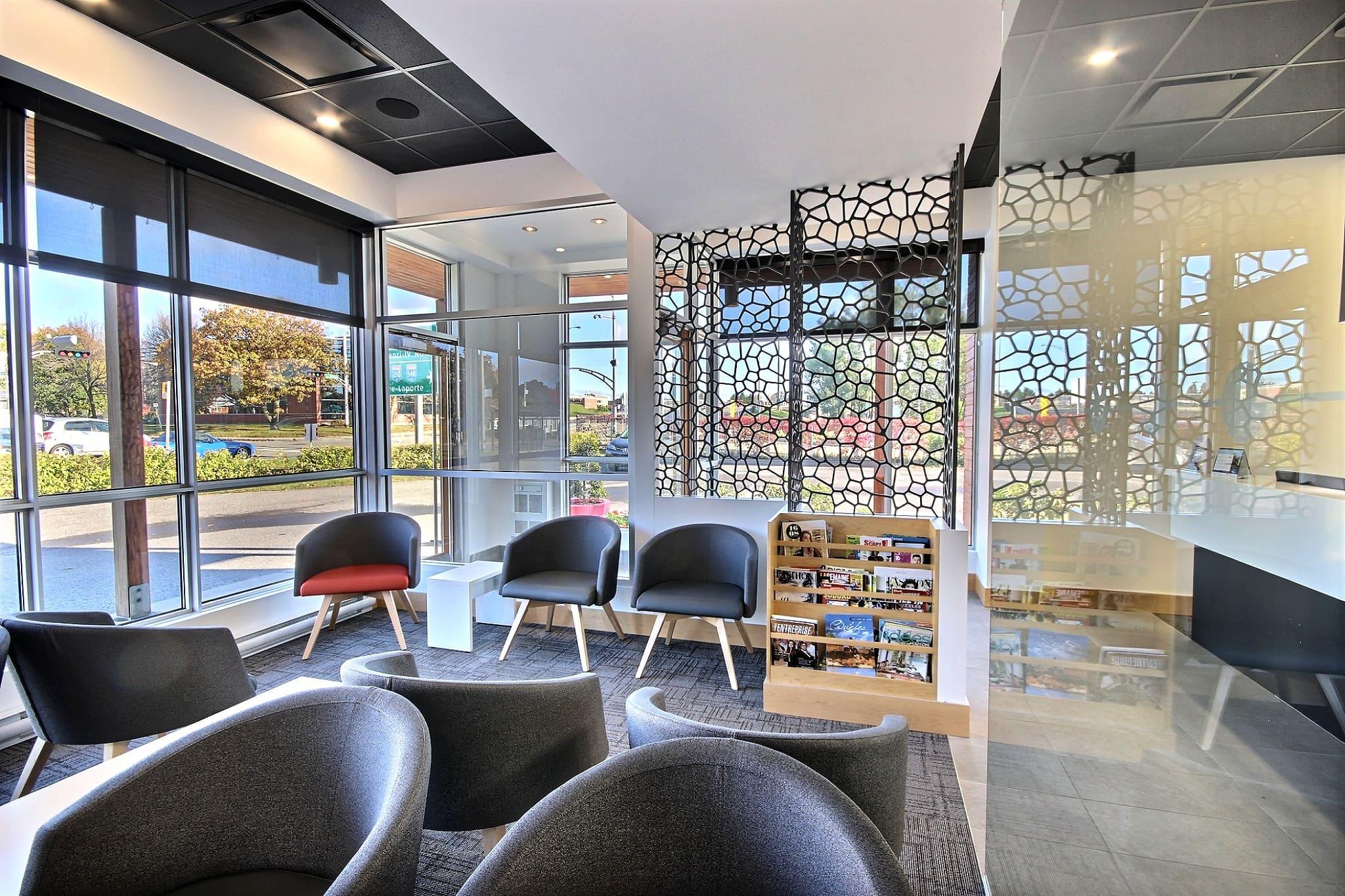 Design moderne salle d'attente