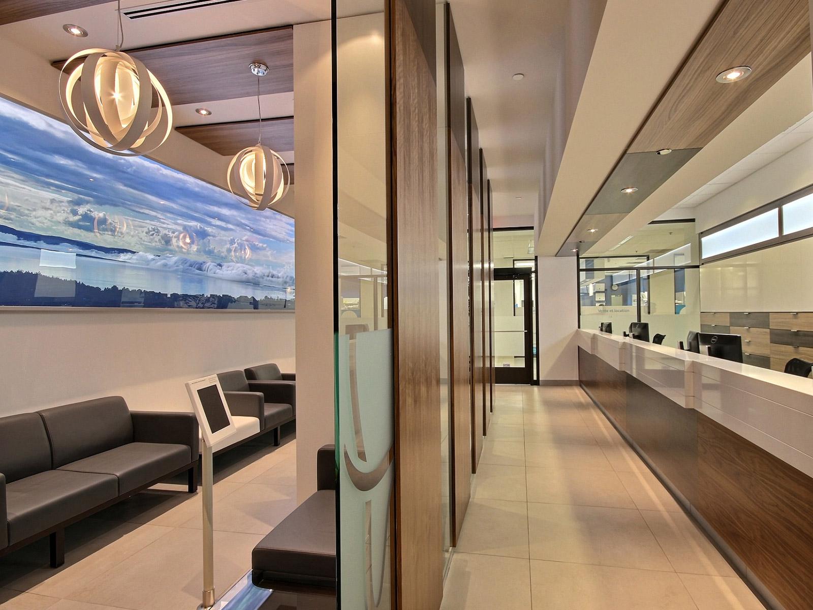 Design intérieur entrée clinique