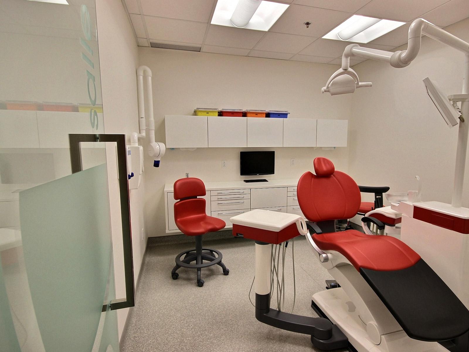 Design salle de traitement dentiste