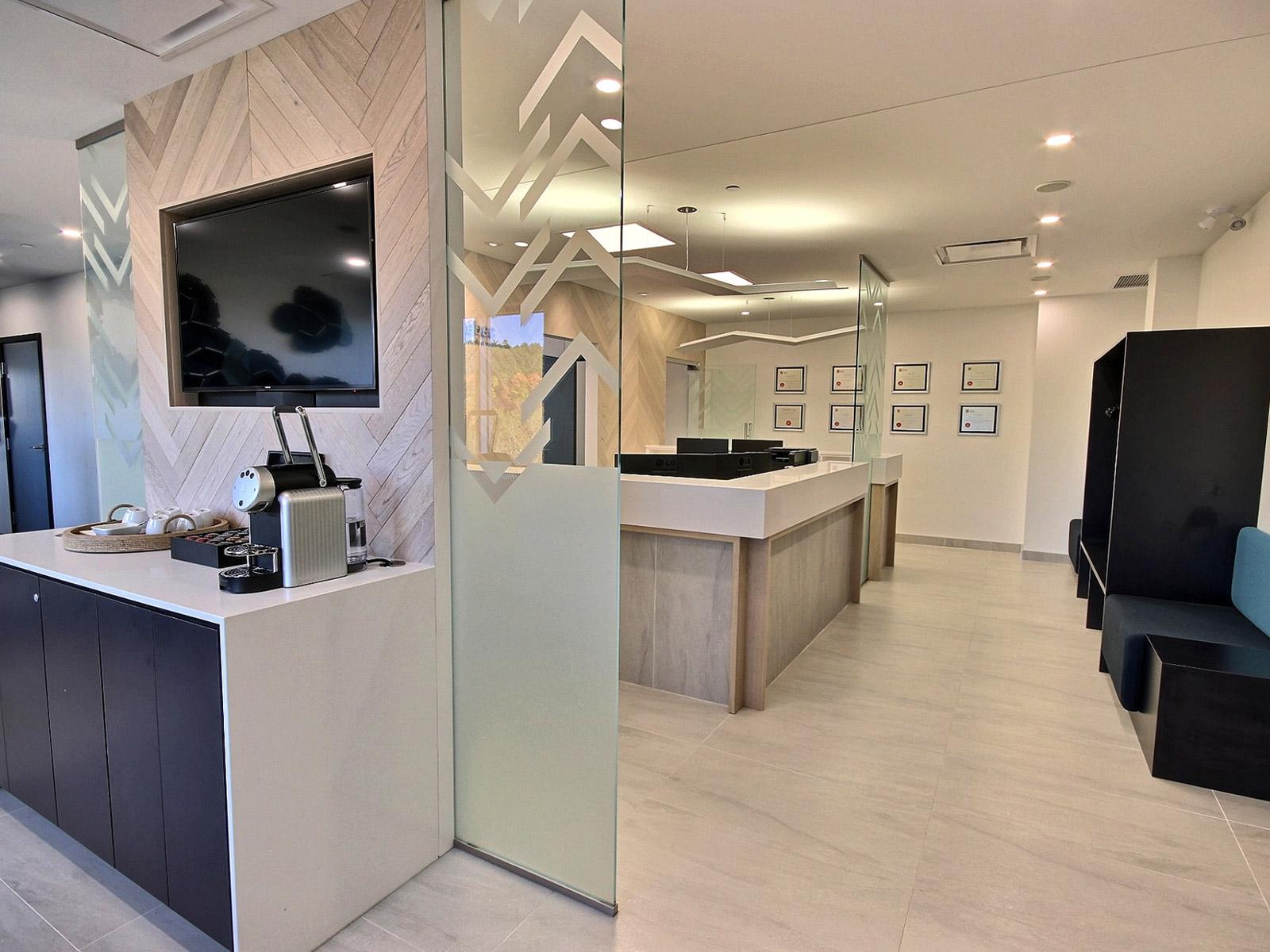 Décoration intérieur clinique dentiste