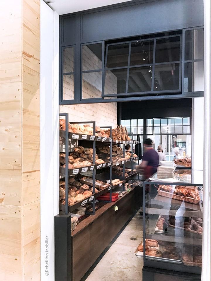 Design intérieur magasin Grand Marché