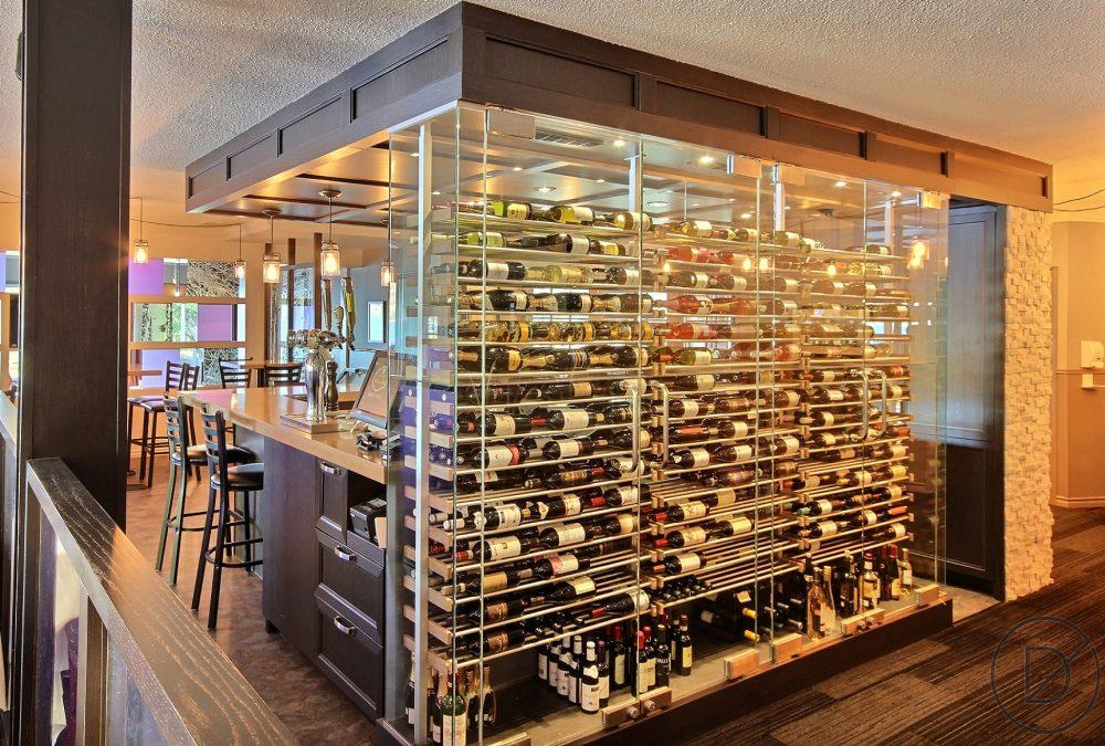 Design intérieur cave à vin