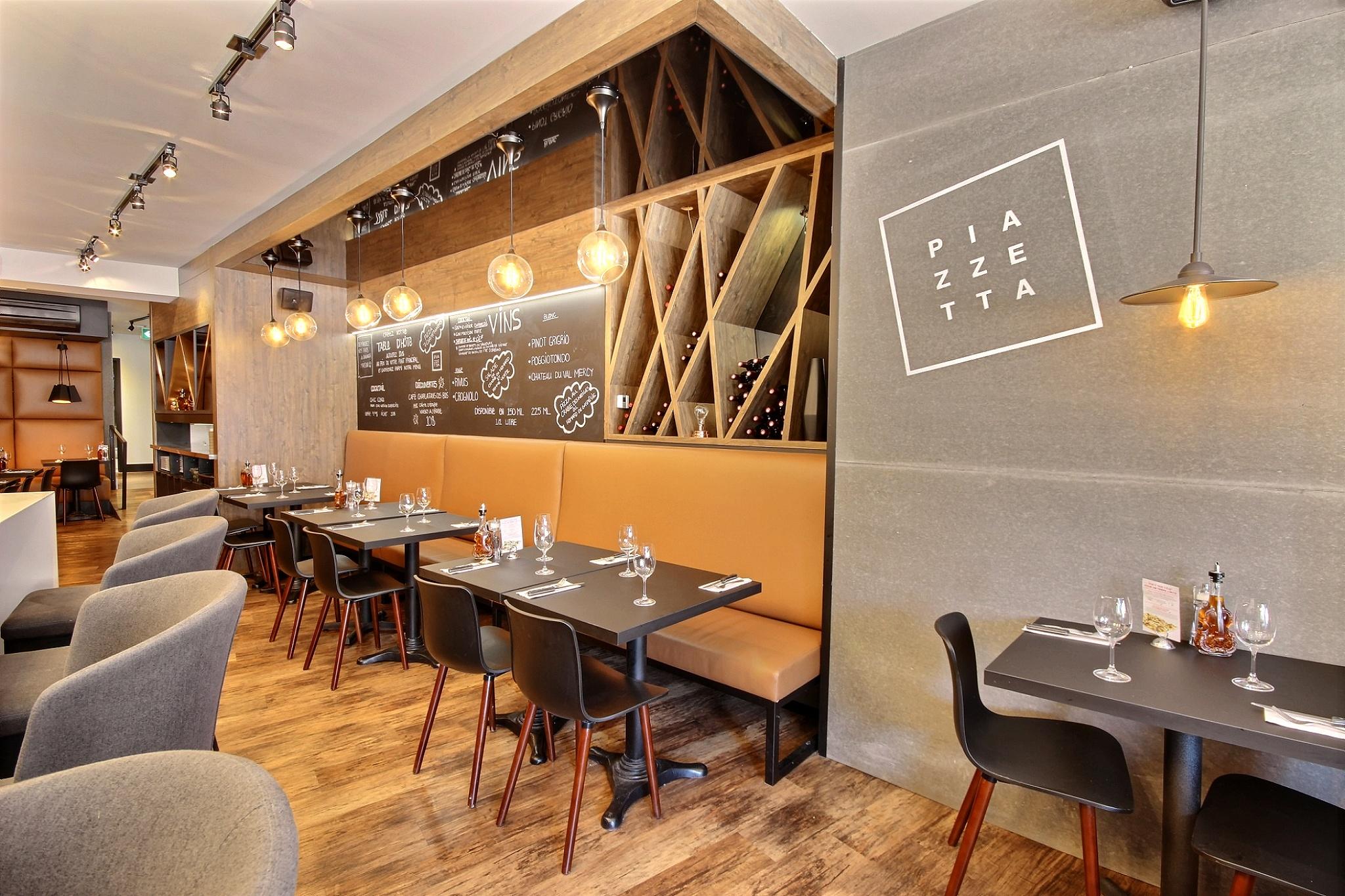 Salle de restaurant design intérieur