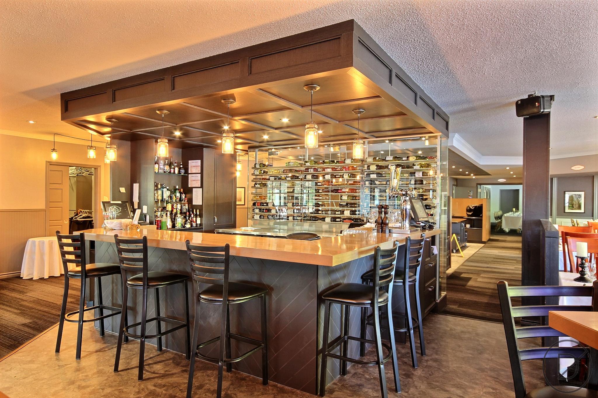 Décoration intérieur bar