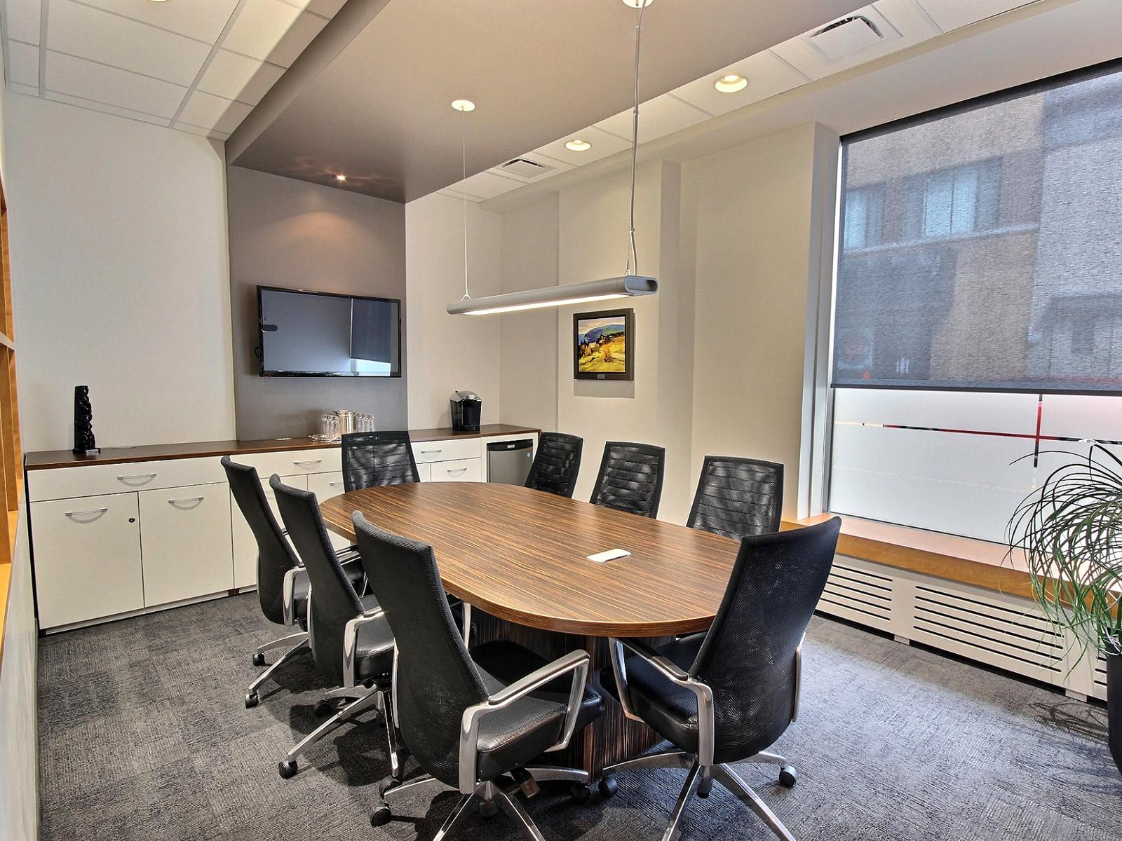 Design intérieur salle de réunion