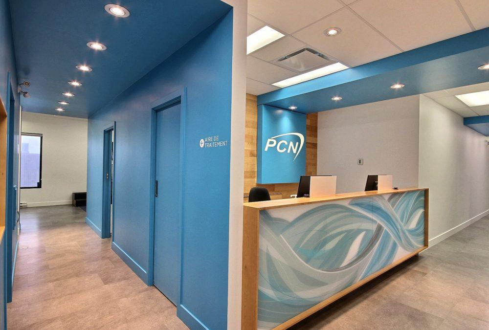 Design intérieur accueil PCN