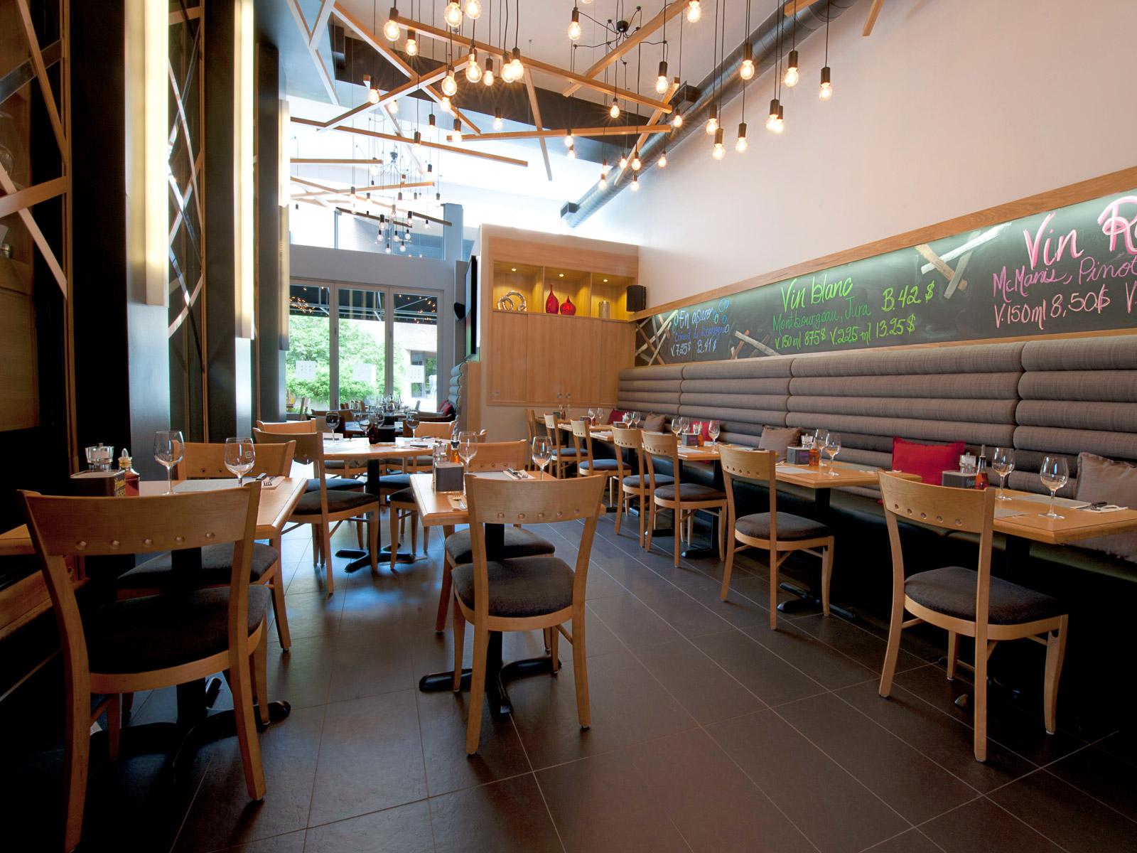 Design intérieur salle de restaurant