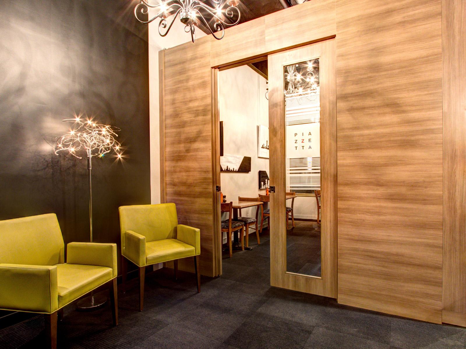 décoration d'intérieur restaurant Piazzetta Levis