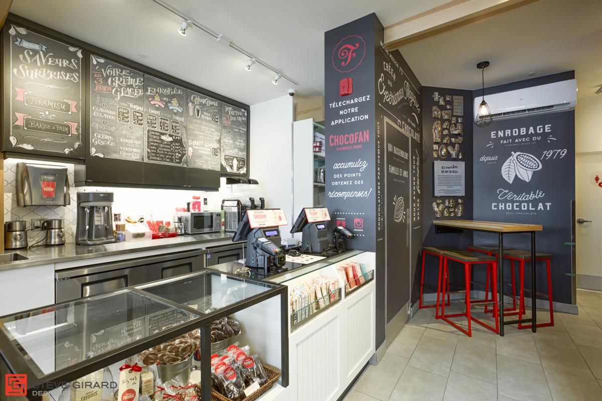 Design intérieur caisse magasin