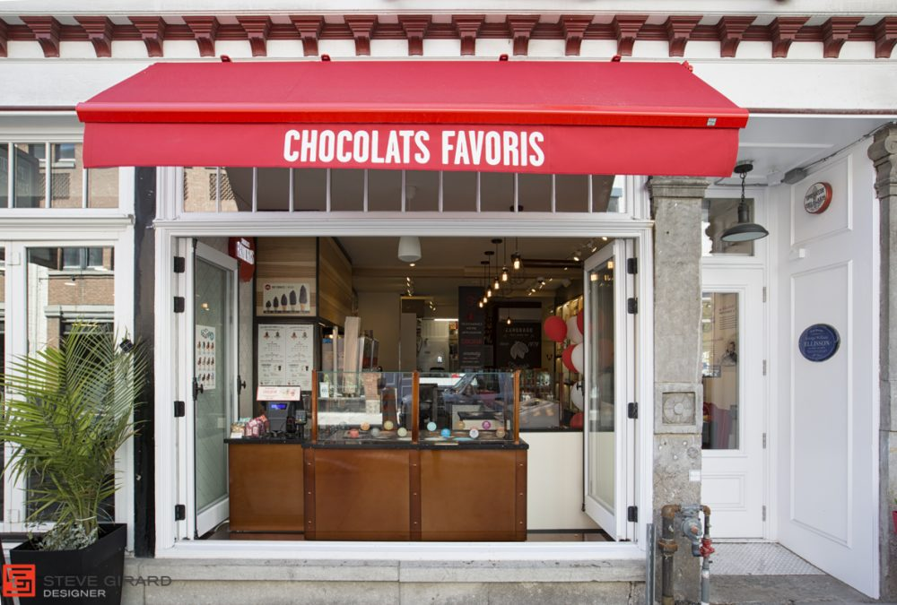 Design architecture québec Chocolats Favoris St Jean