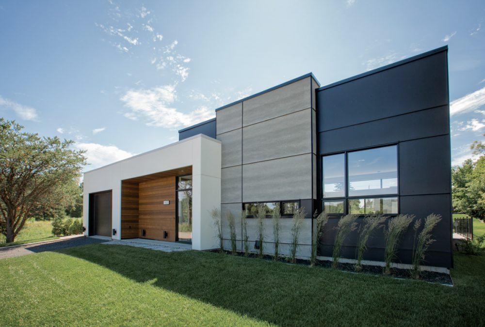 Architecture maison moderne québec