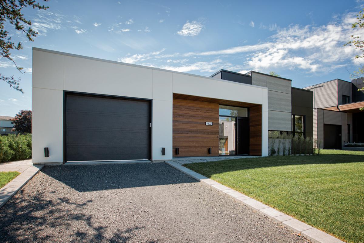 Façade architecture moderne