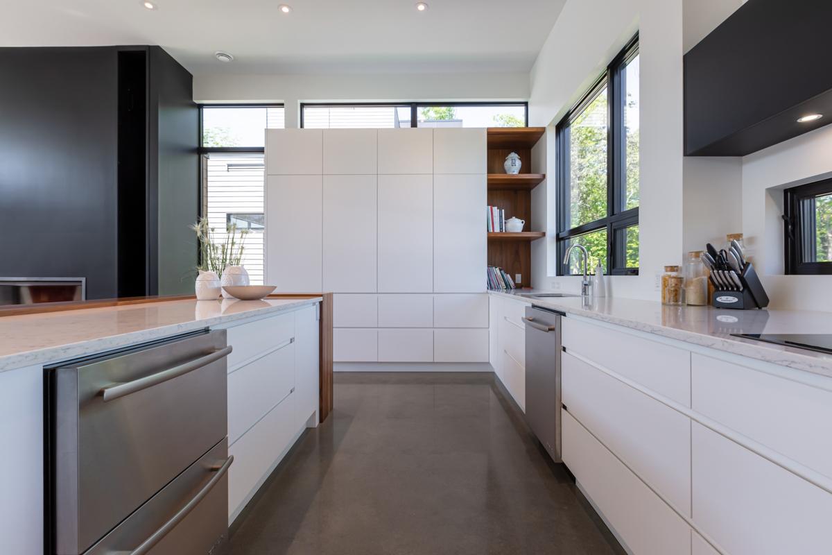Design cuisine blanche
