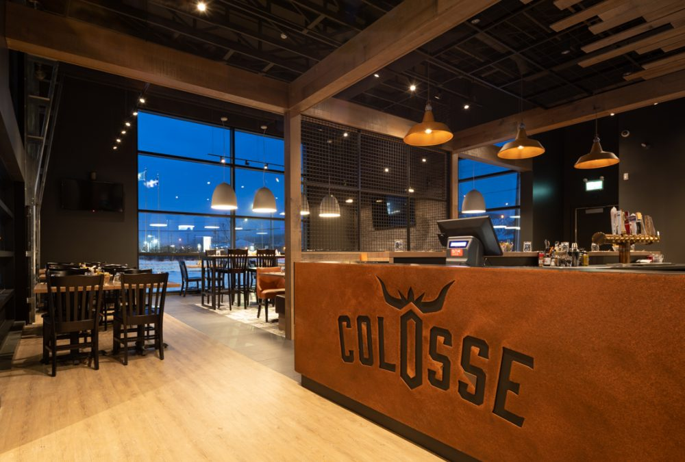Design restaurant Le Colosse