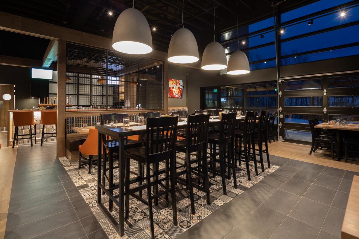 Design intérieur restaurant Québec