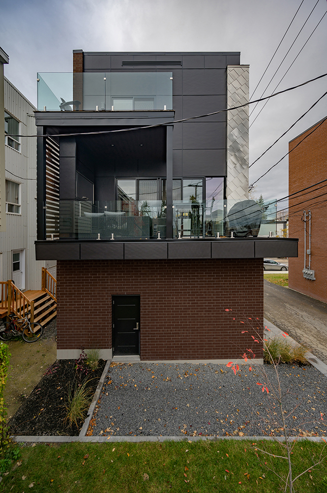 Designer intérieur et architecte résidence moderne Québec