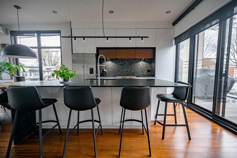 Design cuisine moderne Québec