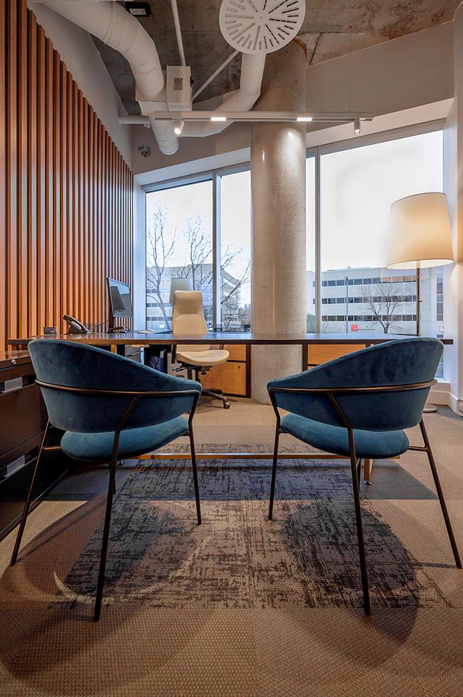 Design intérieur bureau industriel