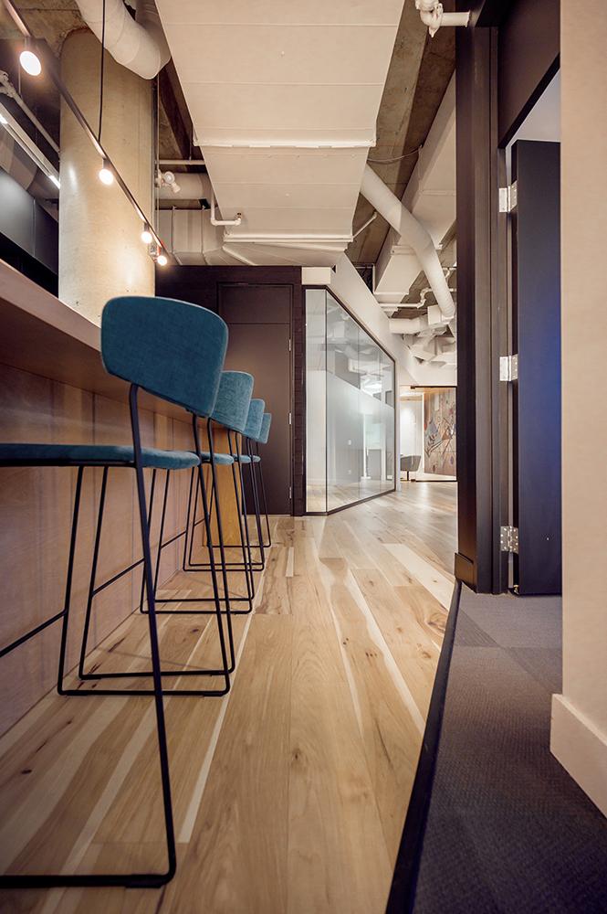 Design intérieur bureaux industriels