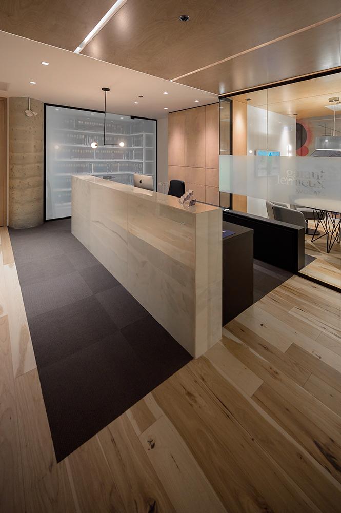 Réception design intérieur