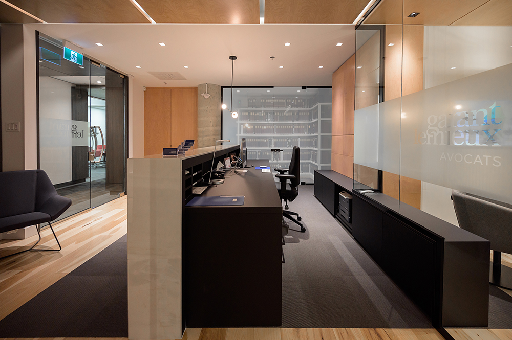 Design bureau accueil
