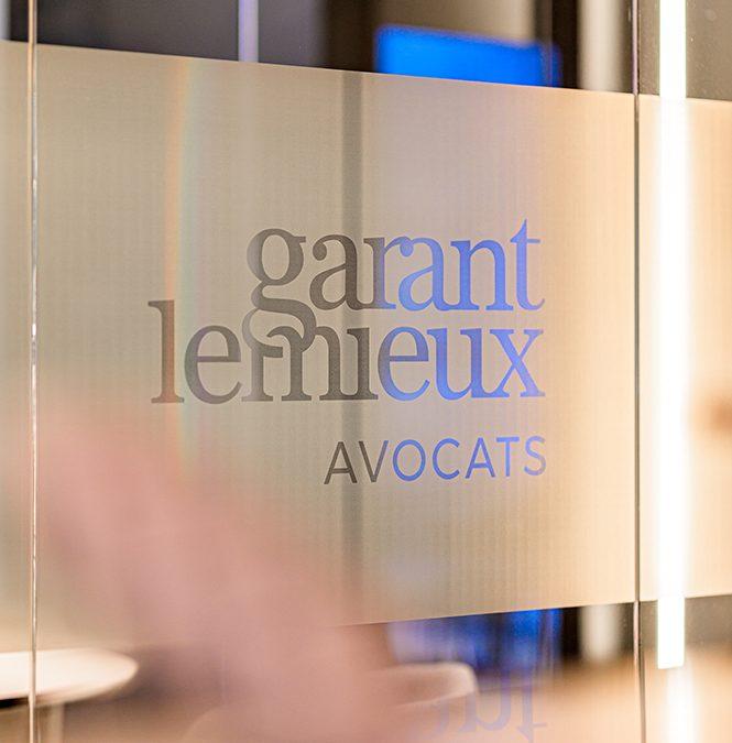 Design intérieur Garant Lemieux Avocats